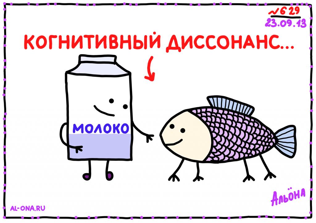 КОГНИТИВНЫЙ ДИССОНАНС...